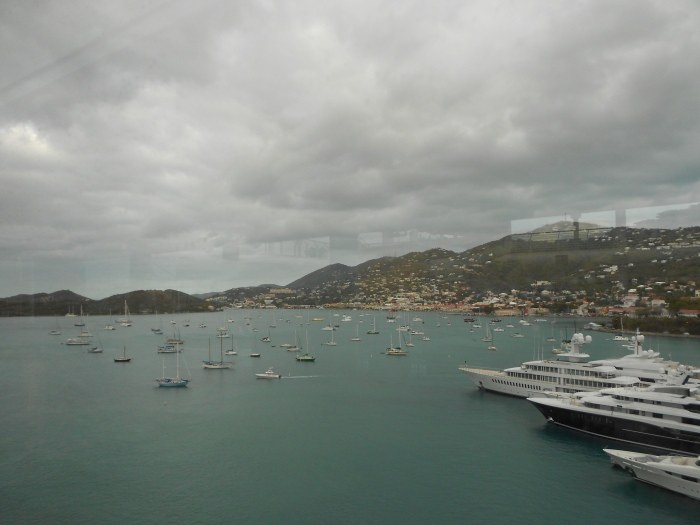 This is the marina in Havensight, St. Thomas